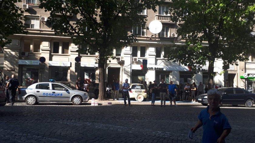 протестиращи блокираха движението бул дондуков
