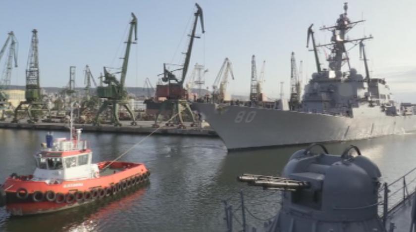 приключи военното учение passex черно море