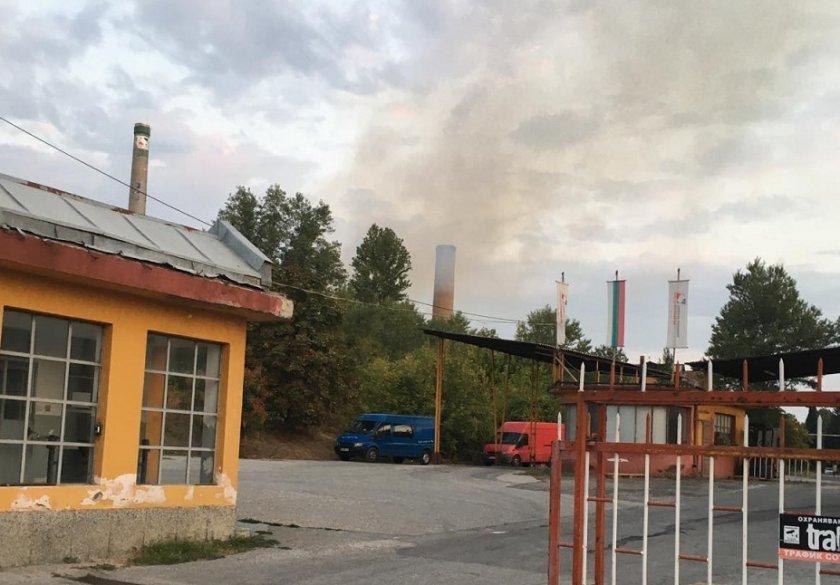 започна разследване пожара бивш производствен цех захарната фабрика