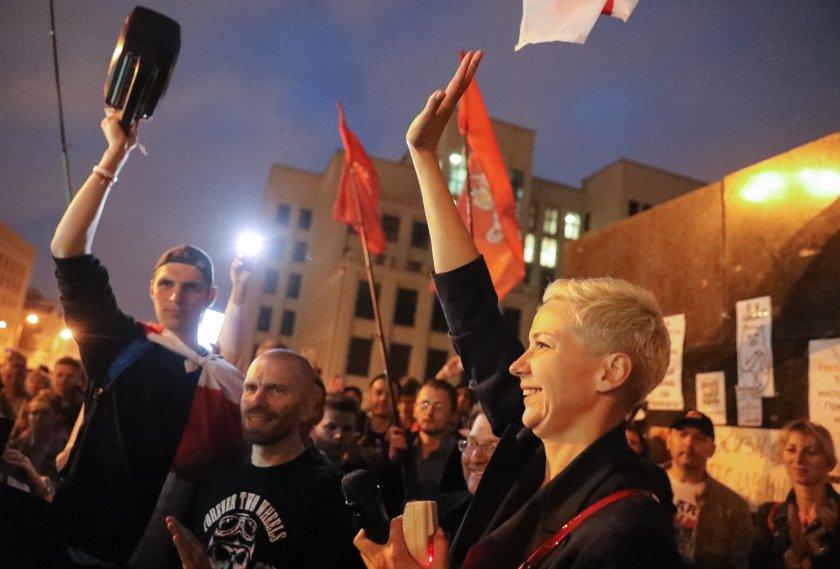 повдигнаха обвинение опозиционерката беларус мария колесникова