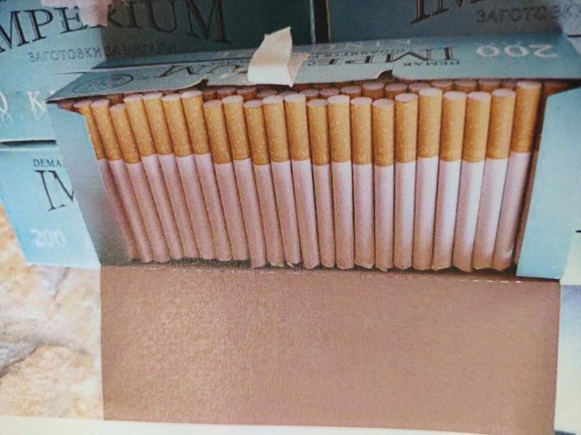 Иззеха голямо количество безакцизен тютюн и цигари в Пловдивско