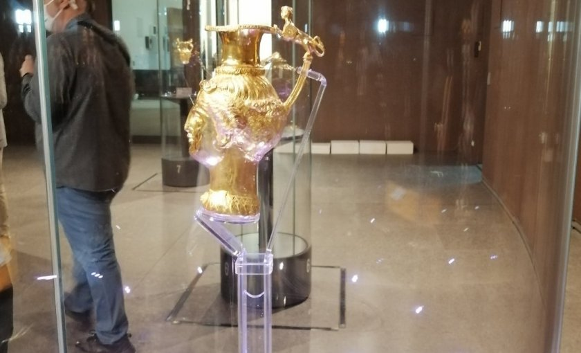 Панагюрското златно съкровище се връща у дома си до 2 ноември