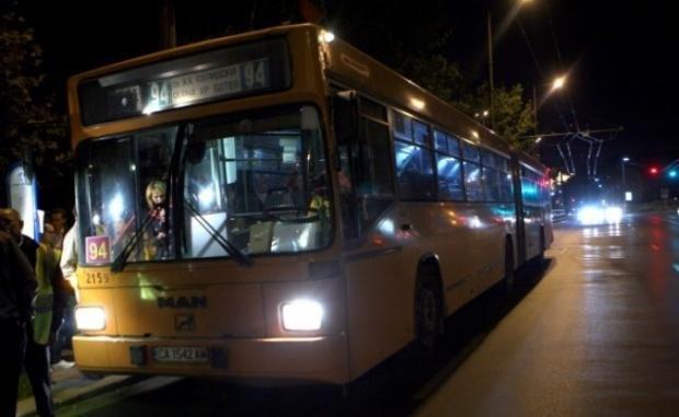 окончателно без нощен транспорт софия края годината