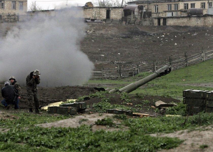 расте броят жертвите сраженията нагорни карабах