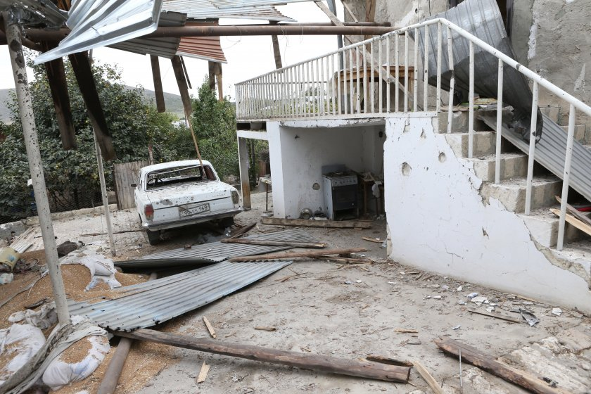 Съветът за сигурност на ООН призова за прекратяване на огъня в Нагорни Карабах