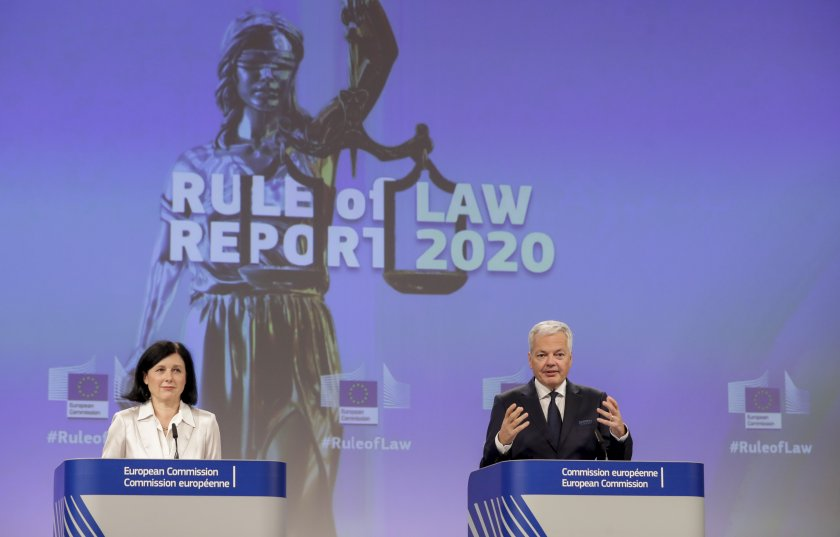 пише доклада върховенството закона другите страни членки сме