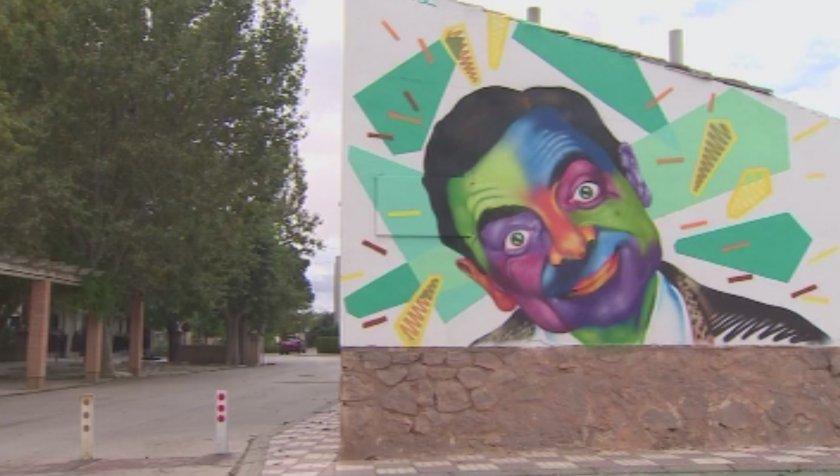 Испанско градче се превърна в графити галерия