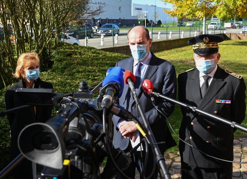 франция отговори цялата твърдост терористичния акт учителя