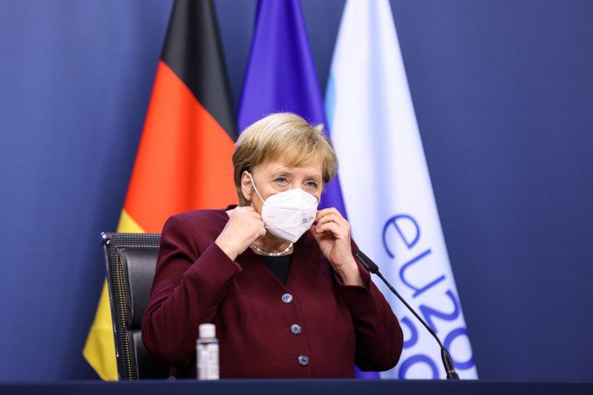 Меркел призова германците да си останат вкъщи