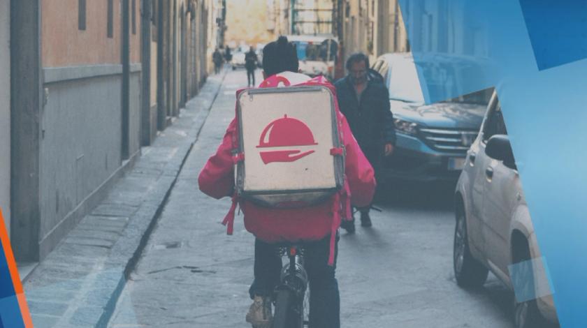 Поръчаната онлайн храна вече официално може да се доставя с мотопед, велосипед или пеша
