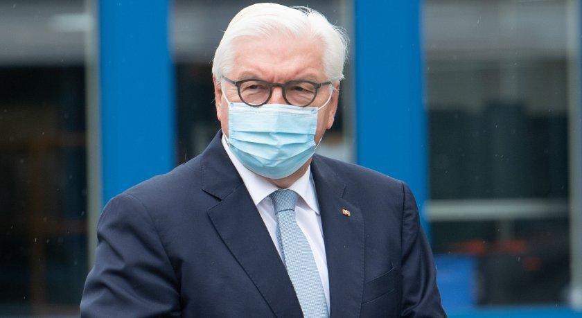 президентът германия карантина