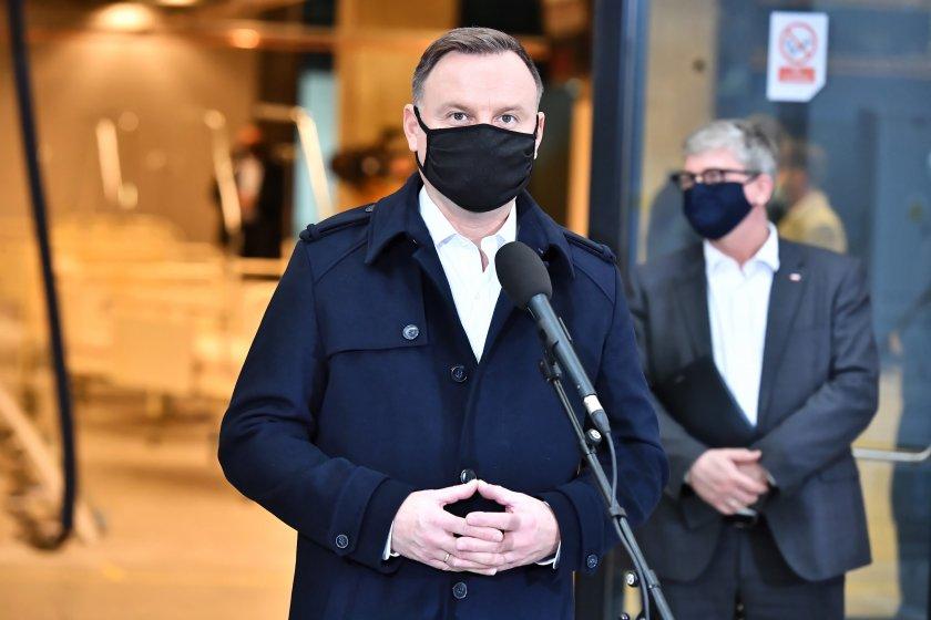 полският президент анджей дуда коронавирус
