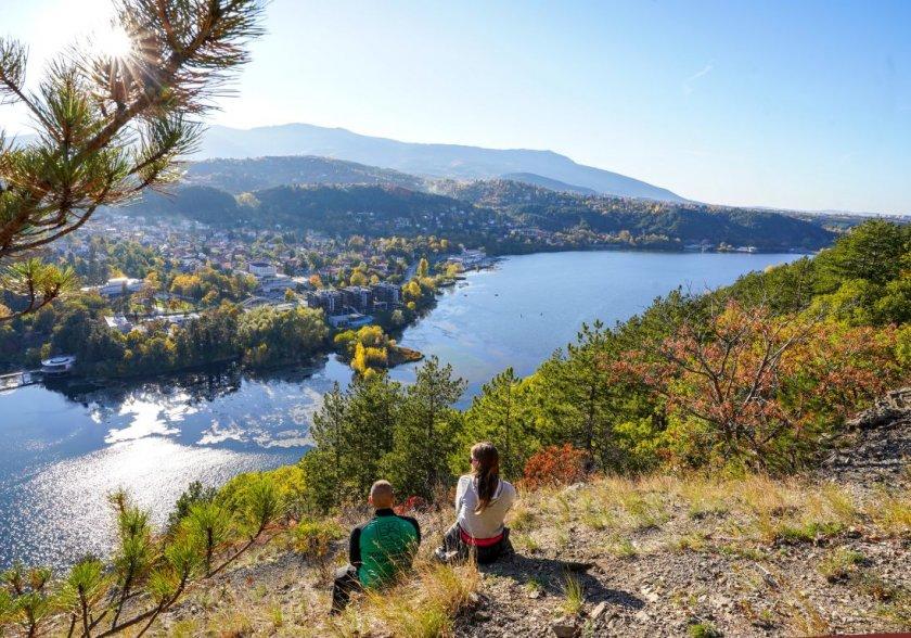 панчаревското езеро един популярните маршрути разходка