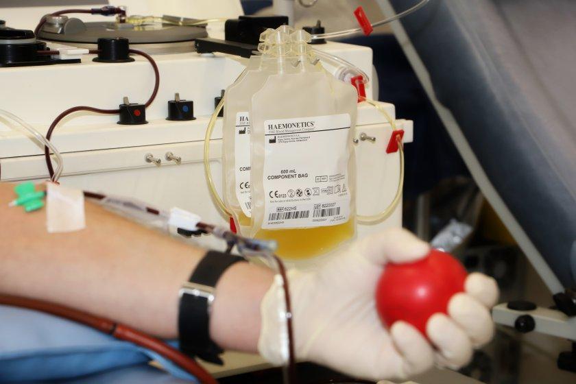 военнослужещи даряват кръвна плазма лечение covid
