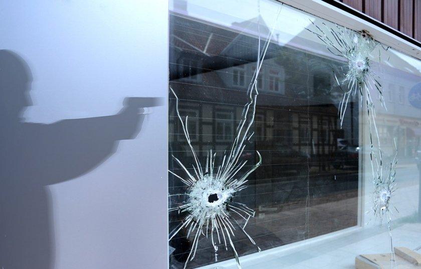 мъж откри безразборна стрелба предградие бон
