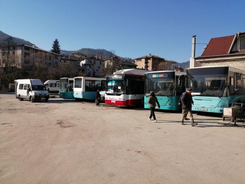 смолян също присъединиха протеста нерегламентираните превози
