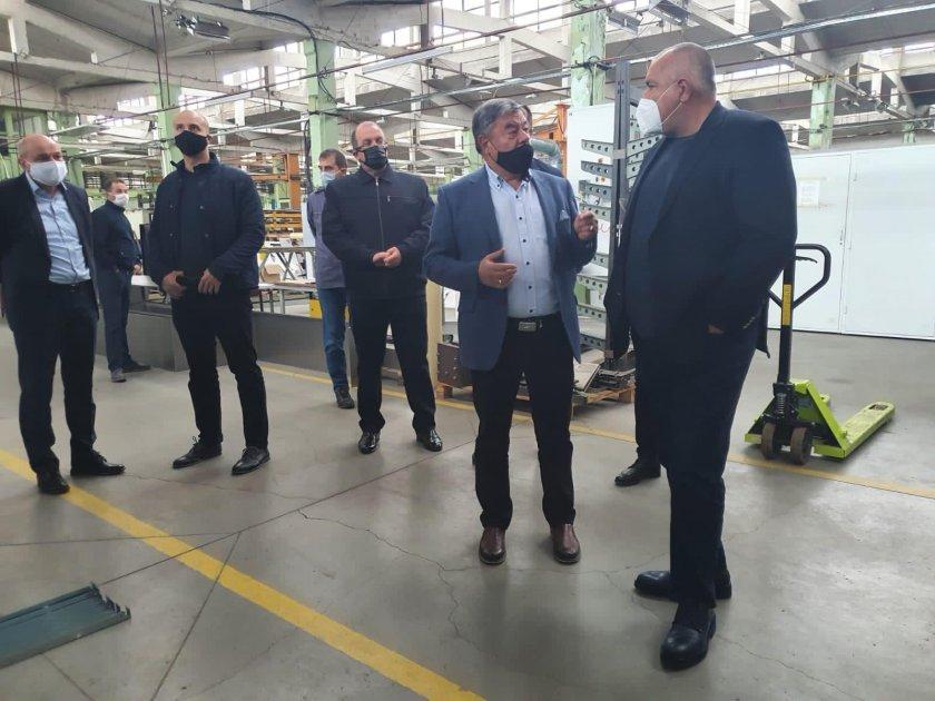 Бойко Борисов: Държавата помогна с над 1 млрд. лв. на бизнеса в кризата