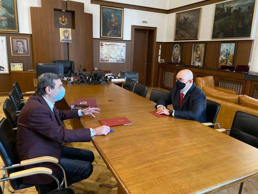 """Прокуратурата и КТ """"Подкрепа"""" подписаха Меморандум за сътрудничество"""