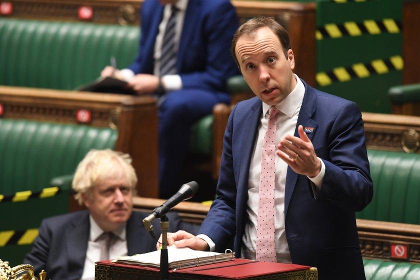 великобритания назначи първия историята министър ваксинацията