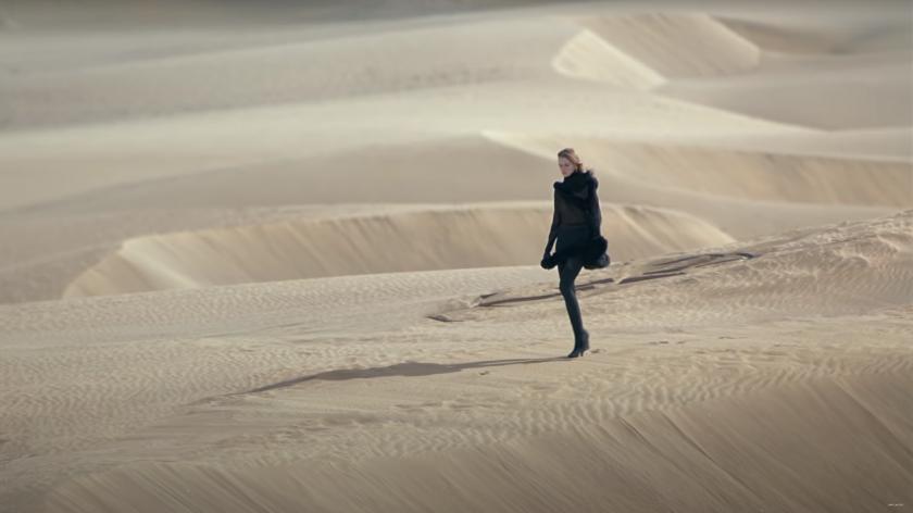 Необичайно ревю - с токчета в пустинята