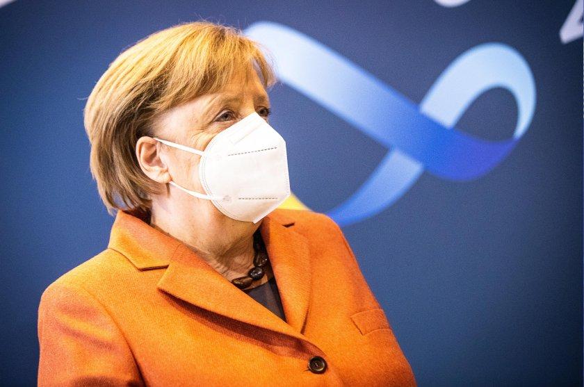 меркел твърди мерки коронавируса затварят магазини училища