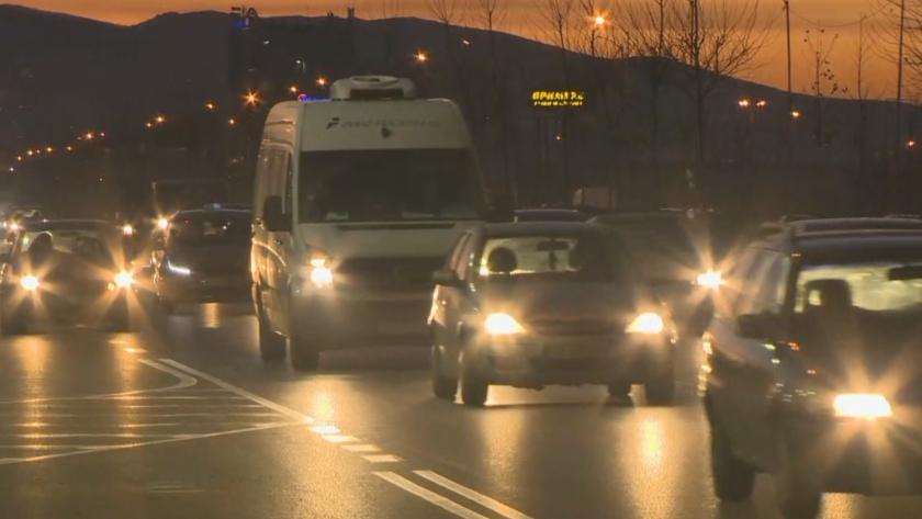 Натоварен трафик и задръствания заради предстоящите празници