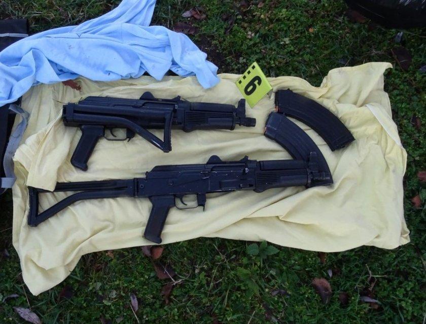Задържаха рецидивист с 10 присъди, стрелял с автоматично оръжие при сделка за марихуана
