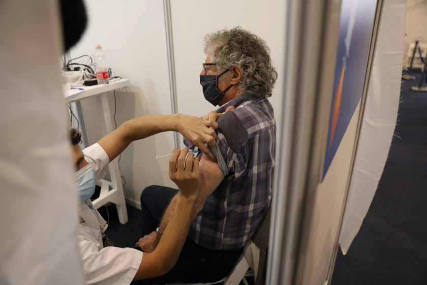 израел планира милиона ваксинации края януари