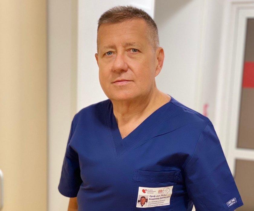 почина проф владимир данов един водещите кардиохирурзи българия