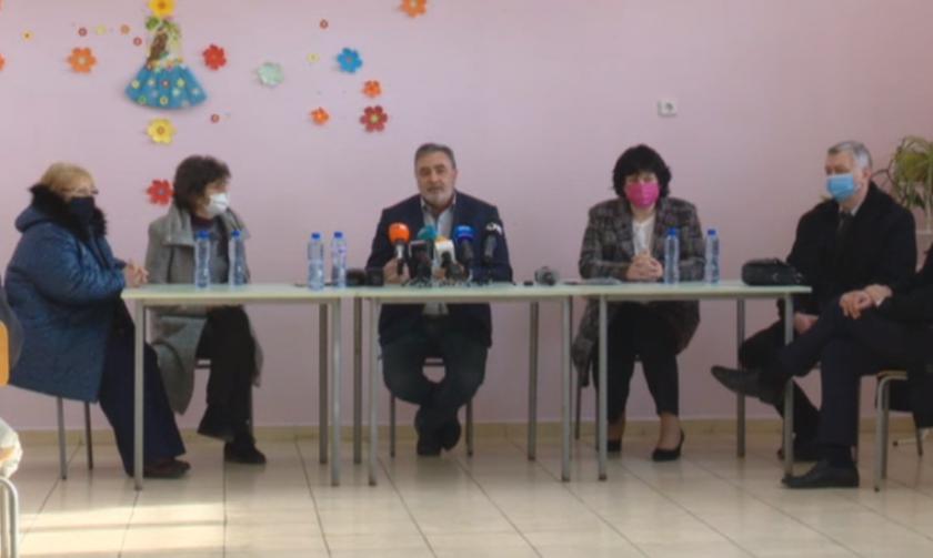 живо учителите село бояджик искат ваксинират