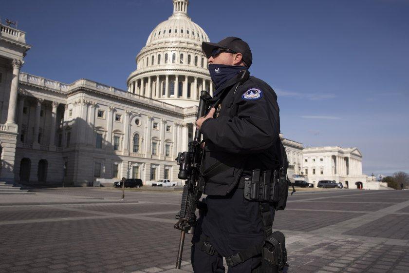 eвакуираха капитолия заради заплаха сигурността
