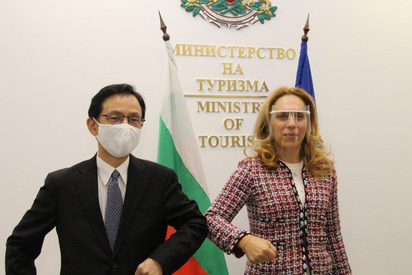 туризмът остава приоритет отношенията българия япония