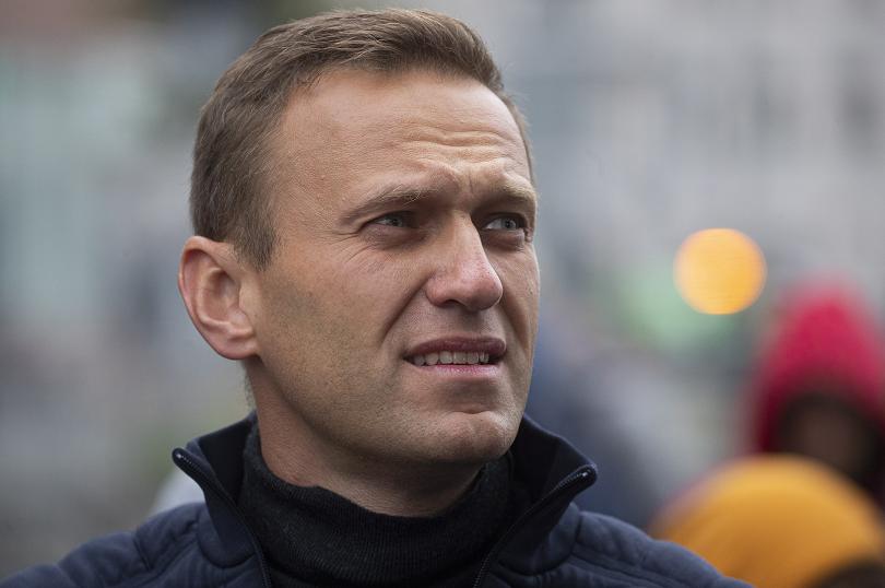 реакции новината отряването навални новичок