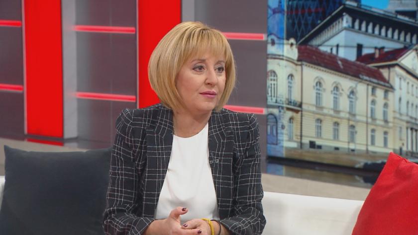 """Мая Манолова: По никакъв повод """"Изправи се.БГ"""" няма да прави коалиция с ГЕРБ"""