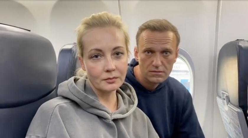 съпругата навални арестувана протеста москва