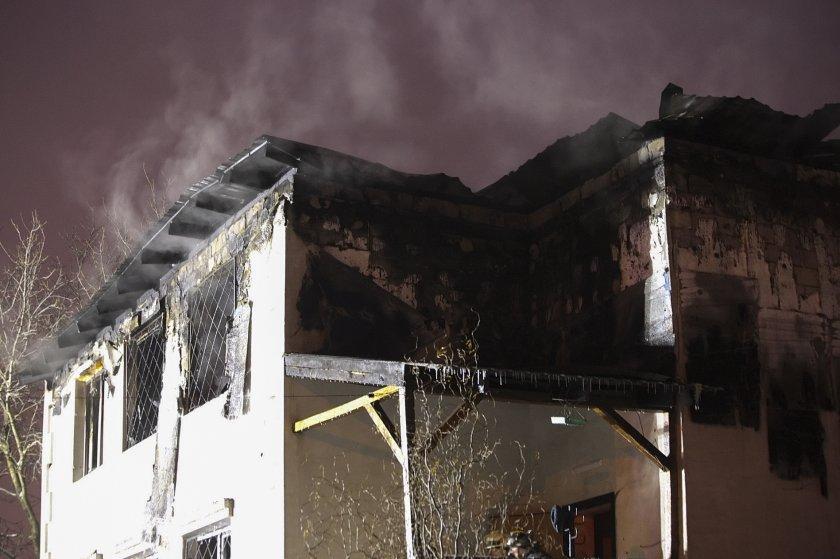 жертви взе пожар дом възрастни хора харков