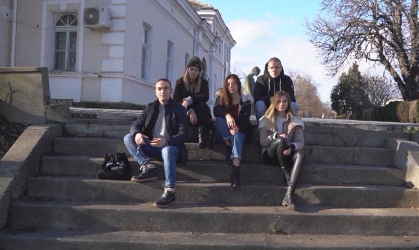 млади хора видин направиха клип агресията интернет