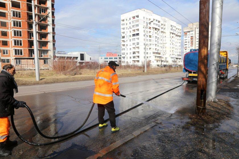 мият улиците софия йод белина