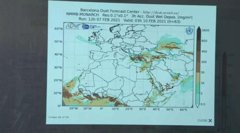 Синоптик: Сахарският прах не е опасен, защото е с естествен произход
