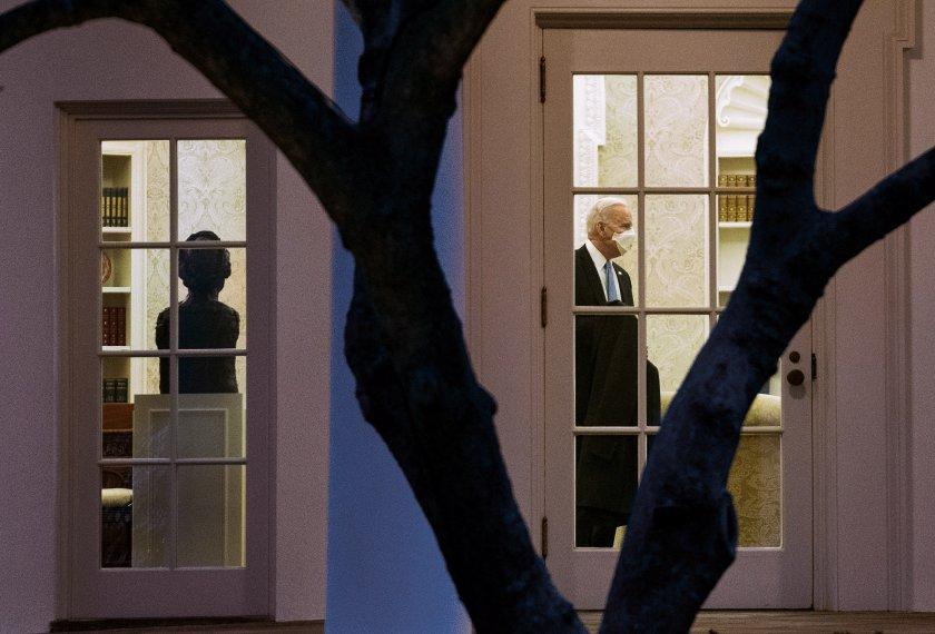 Джо Байдън няма да приема чужди лидери през следващите месеци
