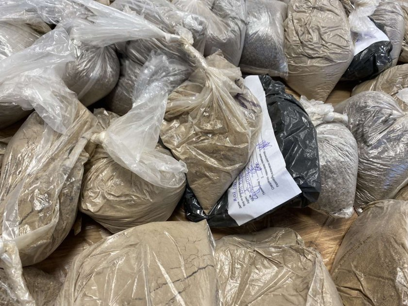 задържаха огромно количество наркотици млн варна