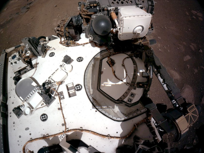 наса изпрати снимки марс земята