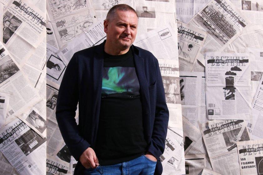 писателят георги господинов награда принос европейската литература
