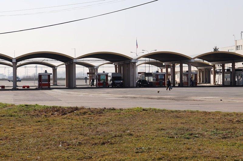 нов терминал дунав мост румънска страна разделя тежкотоварния лекотоварния трафик