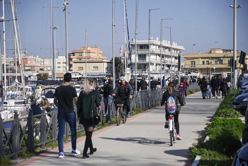 италия удължава забраната несъществени пътувания март