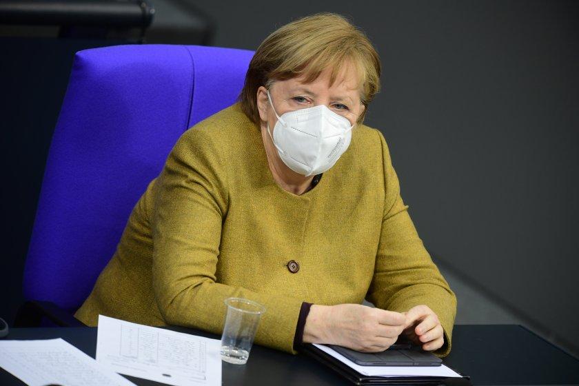 меркел обяви разхлабване мерките март