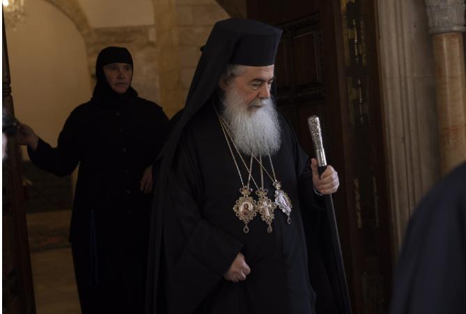 йерусалимският патриарх благослови българия