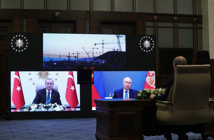 турция русия полагат основите трети енергоблок аец аккую
