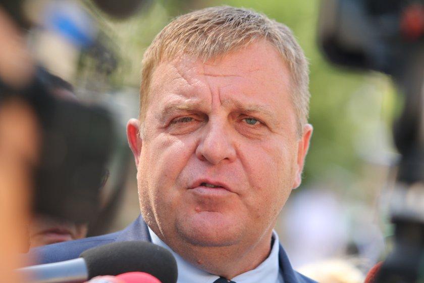 Военният министър Красимир Каракачанов с коментар за шпионския скандал