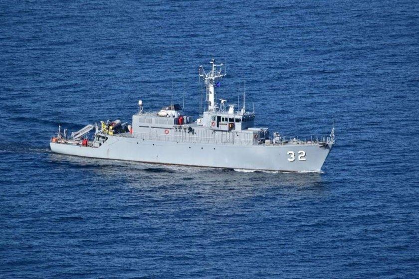 """Минният ловец """"Цибър"""" се включва в задачи на НАТО в Черно и Средиземно море"""